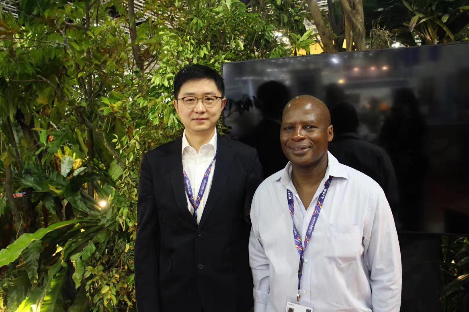 南南合作局亚太区负责人Denis Nkala博士